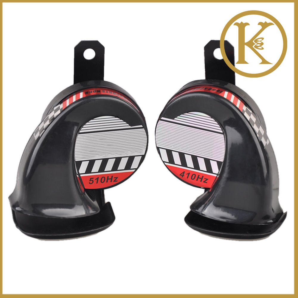 2x 12V Loud Car Auto Truck Electric Vehicle Horn Snail Horn Sound Level 130dB For AUTO&Motorcycle Loud Voice Speaker(China (Mainland))