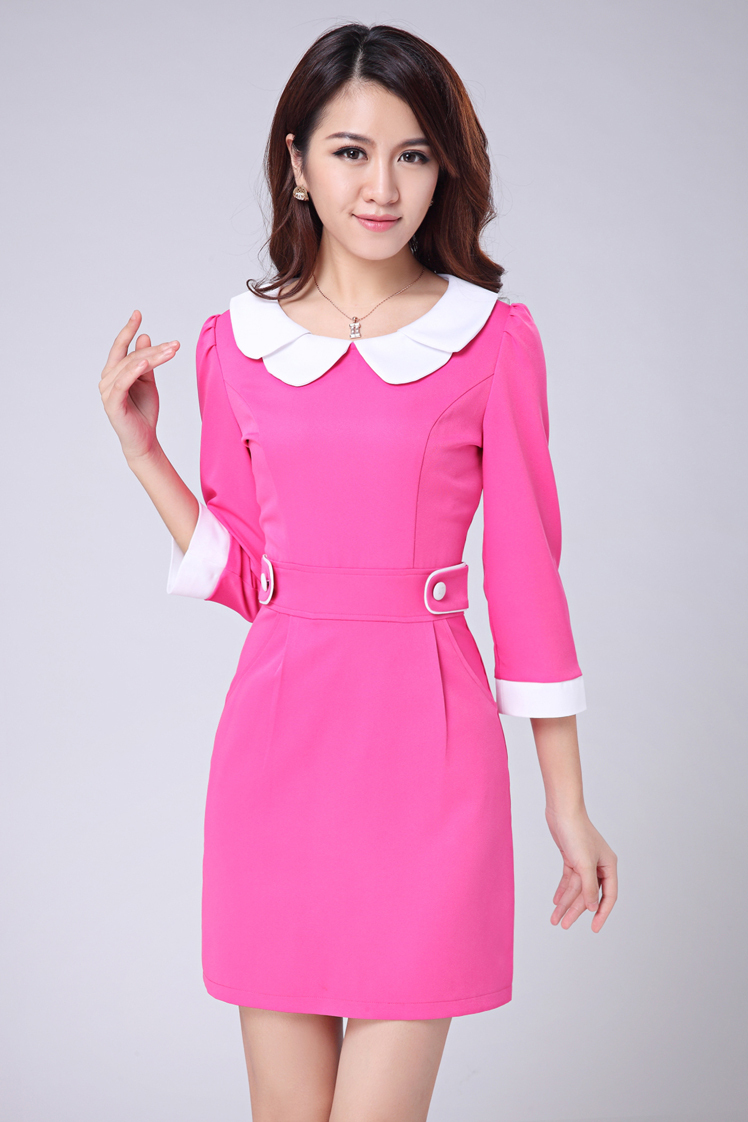 Cwb high end summer new dress salon wear office uniform for Spa vest uniform