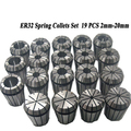 19PCS LOT ER32 SPRING COLLETS SET 2 20mm ER32 Collet For CNC Engraving Machine