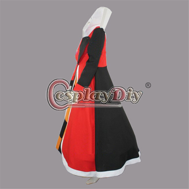 Queen of Hearts Cosplay Costume For Adults Women And Girls Halloween Clothing Custom Made D0706