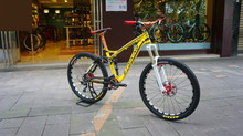 Hydraulic Disc  brakes  Downhill AM/XC  21/24/27/30 speed   26 inch aluminum  frame   26er mountain bicycle man woman bike    (China (Mainland))