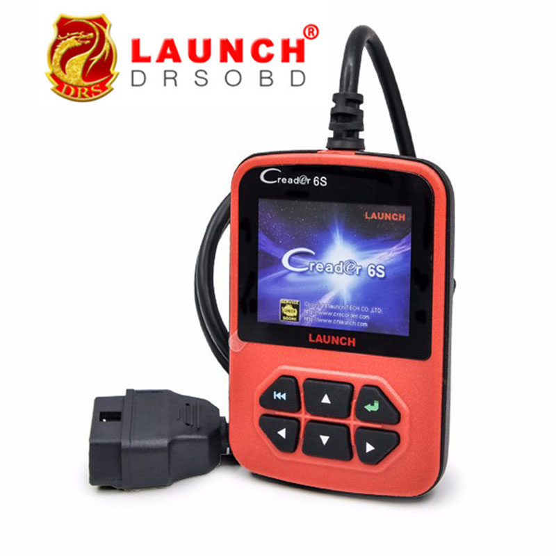 2016 New Arrival Original Launch X431 Creader 6S OBDII Generic Code Reader Scanner EU&American Version Launch Creader VI Plus(China (Mainland))