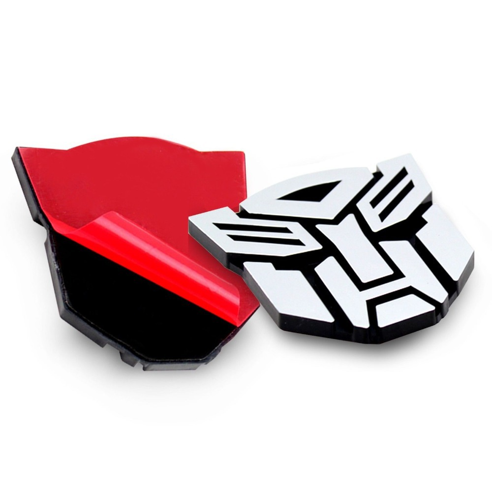 Car decal design singapore -  Eforce Hot 3d Transformer Autobot Decepticon Decal Car Sticker Emblem Badge Silver Color Cool Styling
