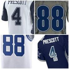 100% stitched Popular mens 4 Prescott 88 Bryant Jerseys Multicolor Regular Jerseys(China (Mainland))