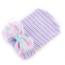แฟชั่นทารกแรกเกิดหมวกน่ารักหมวกผ้าฝ้ายทารก(China)