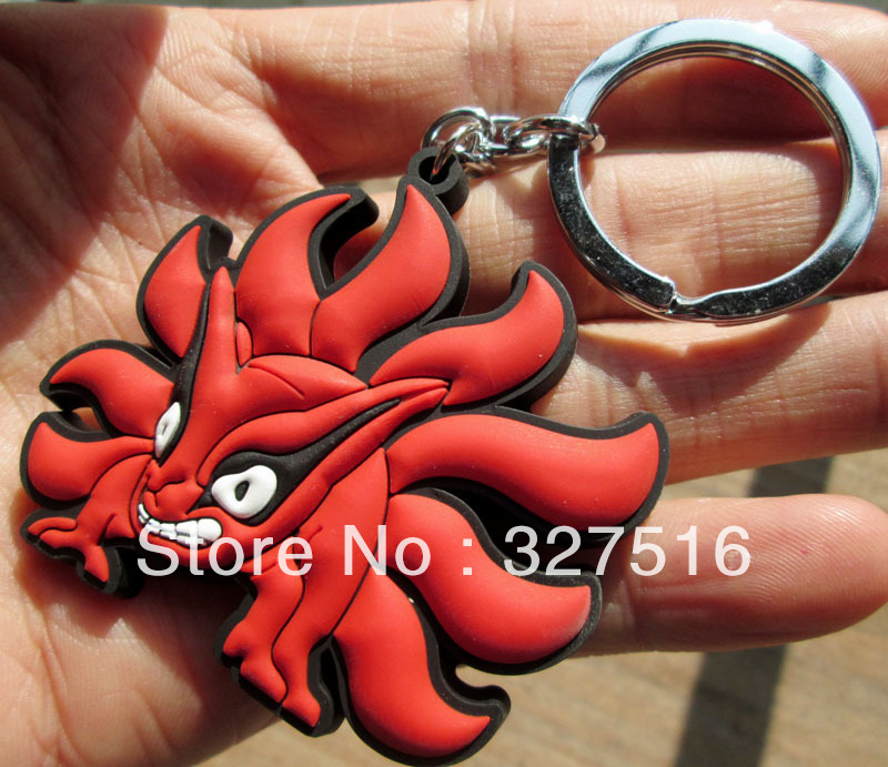 Sells Japan Anime Naruto keychain toys Cute Kumiho  Mobile dust plugs Mobile phone ornaments 40 pcs/lot  free shipping<br><br>Aliexpress