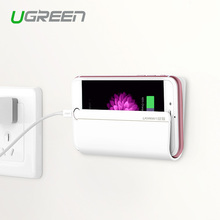 Ugreen Universal Wall Stand Mount Charger Phone Holder for iPhone for Mobile Phone for Samsung Huawei Xiaomi and Tablet(China (Mainland))