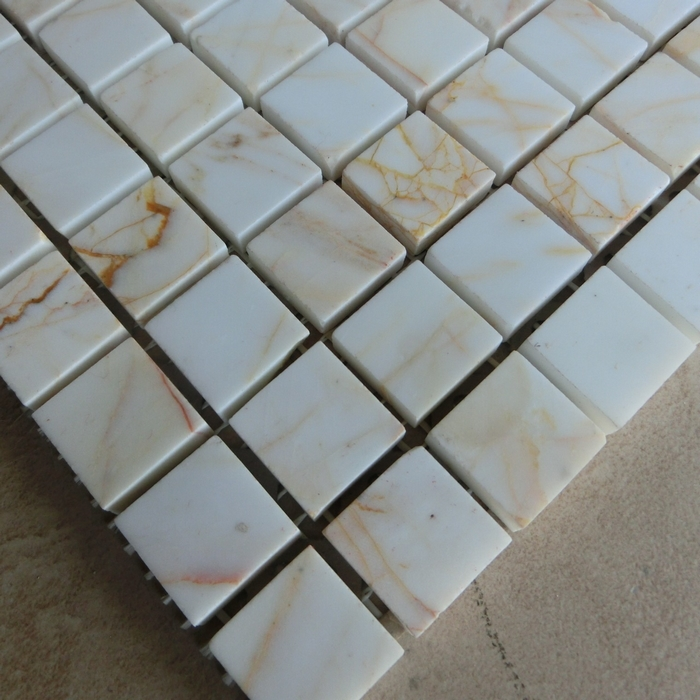 Amazing Light Coloured Marble Tiles Fitted In Bathroom Including Around
