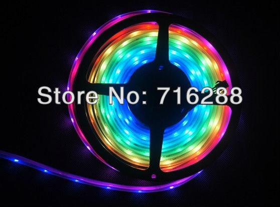5m digital dream color 5050 LED strip built-in lpd8806 DC5V 48LED/m Tube waterproof - J&B Lighting store