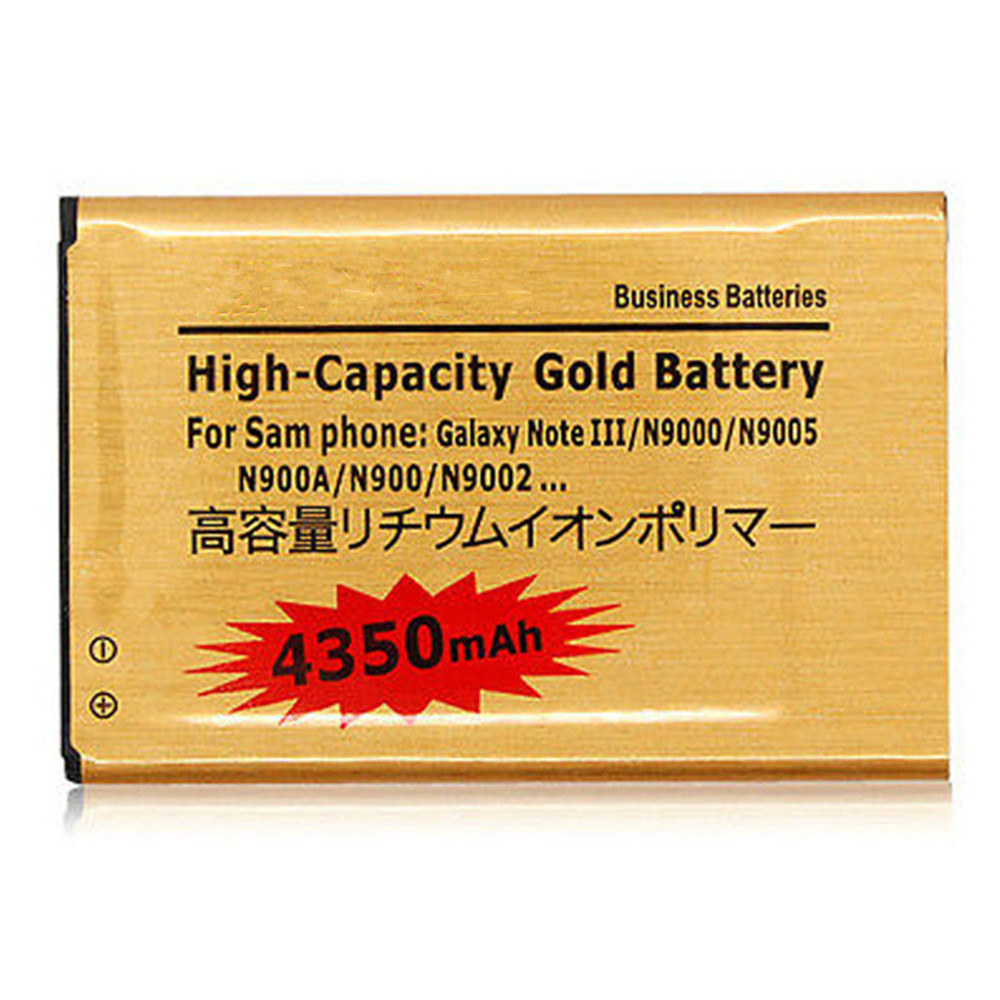 Samsung Galaxy Note3 N9000 9005 08 High Capacity 4350mAh Rechargeable Business Gold Replacement Li-ion Battery - ShenZhen Wings Electronic & Technology CO.,LTD store