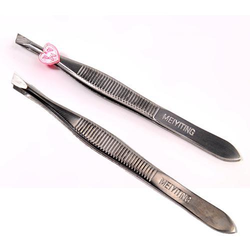 ! Stainless Steel Eyebrow Eye False Eyelash Make Makeup Tools & Accessories Tool, Flat Sidelong Style - Shenzhen Abner Co.,LTD -Life Clothes and Store store