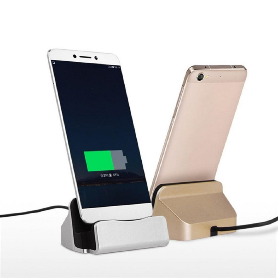 Sync Data Type-C USB Cable Charger Desktop Charging Dock Station for Samsung S6 S7 for Huawei LeTV Xiaomi Type C Charging Stand