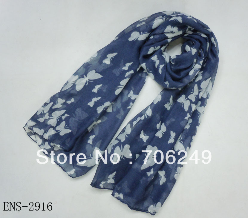 ,2014 new Spring scarf,butterfly design,ladies printed shawl,muslim hijab,big size shawl,women's accessories - ELLEN FASHION ACCESSORIES store