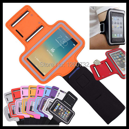 10 Color Retail Waterproof Armband Case iphone 6 4.7 Fashion Belt Wrist Strap Arm Band Phone Bag iphone6 - Honest bussiness girl Store store
