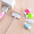 10PCS Fashion colorful USB Data Cable Protector Line Earphone Cable Protective Sleeve For iPhone 5 5s