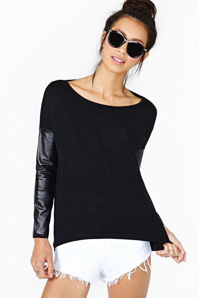 Черные женские кофточки с доставкой