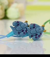 NEW cartoon in-ear wired 3.5mm earphone headphone Spongebob squarepants Despicable Me Hello Kitty  Minions model headset(China (Mainland))