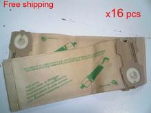 16 шт / lot гувер робот пылесос запчасти пыль сумки для VK118 VK119 VK120 VK121 VK122 бумага мешок мусор сумки