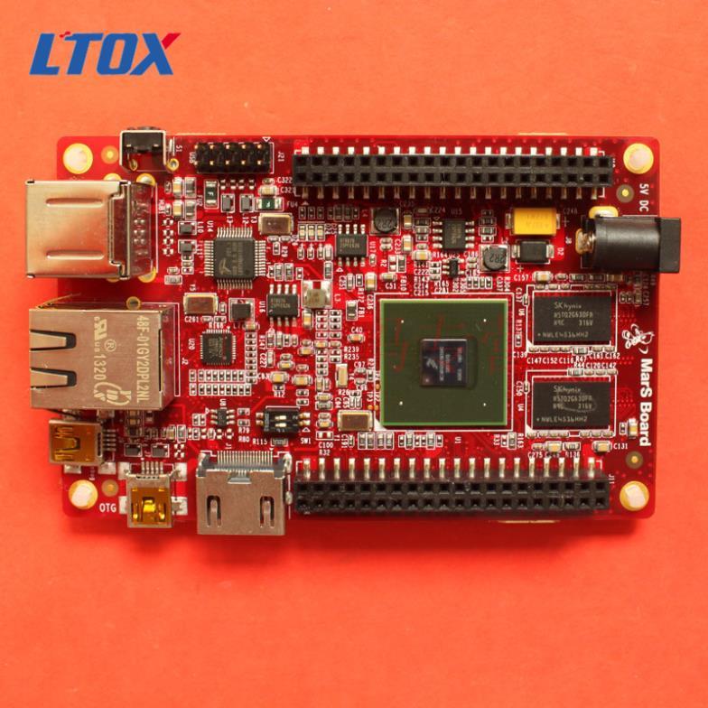 Free Shipping! MarS Board Freescale i.MX6 Dual Core Development board Cortex-A9 super than raspberry pi MarsBoard(China (Mainland))