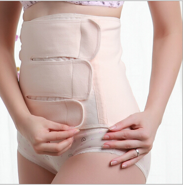 Free Shipping girdle Postpartum Belly Recovery Belt Invisible Tummy Wrap Corset Post Pregnancy Girdle B.G Waist Cinchers C301(China (Mainland))