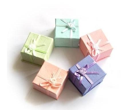 OPK JEWELRY Free shipping , jewelry case box,jewelry bag,jewelry box Color send Random!!! 206