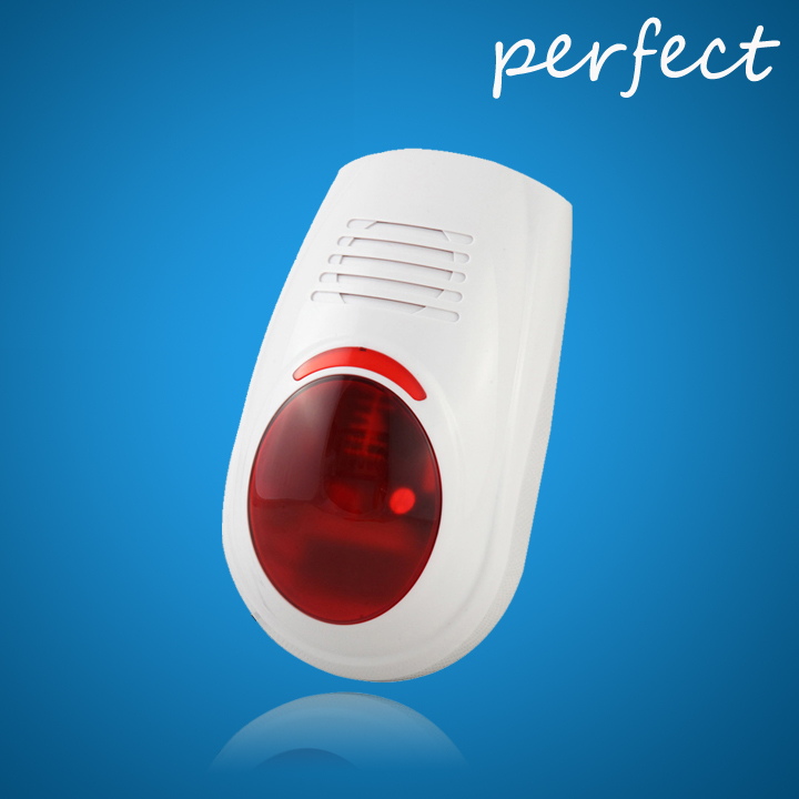 Wireless siren sensor Alarm working for wireless home security alarm system+Free shipping(China (Mainland))