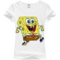 Good Quality Summer Style Female Tops New Arrival Women s Short sleeve Sponge Bob T shirts