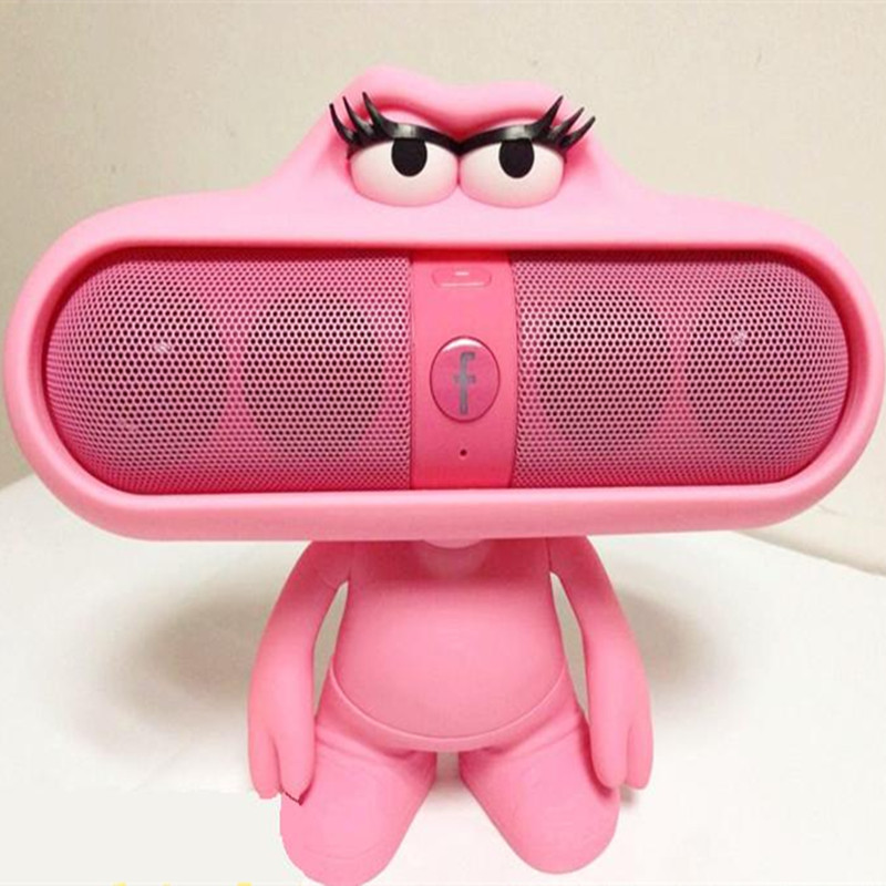 Mini Capsule Magic Sound Bluetooth Wireless Portable Speaker Card Small Stereo Pill Dolls Holder TF FM Radio Virtual Surround(China (Mainland))