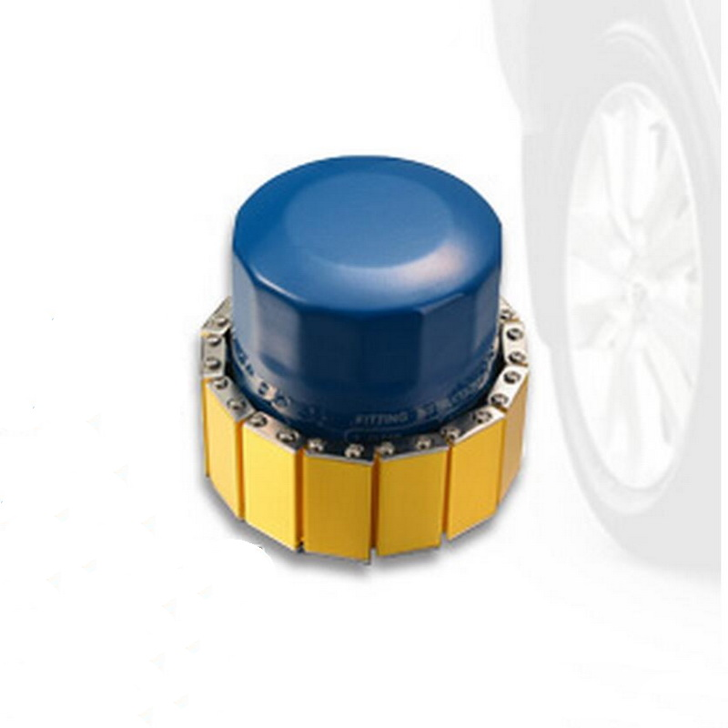 5pcs Motor Oil Filter Mightiness Magnet