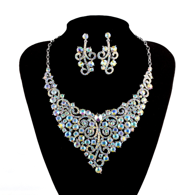 aliexpress buy india style ab color bridal jewelry