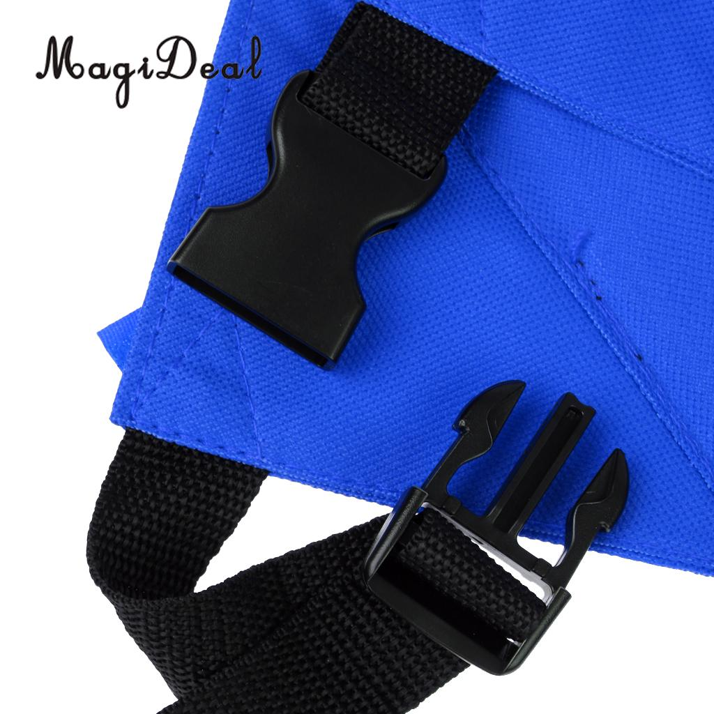 MagiDeal Folding Padded Chair Seat Cushion for Stadium Bleacher Football Sports Red/Blue Picnic Hiking Camping Beach Accessories