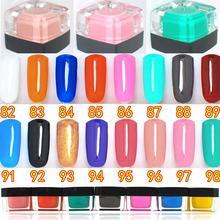 8ml,Soak off Long Lasting paillette Lacque UV Gel pigment Sparkles on nails art Gel Polish Shining Sequins for Powder Nail Gels