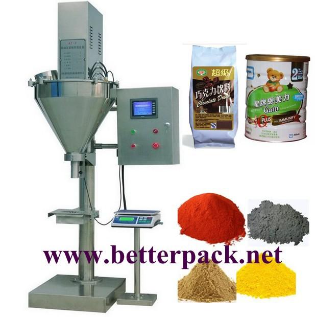 Powder auger filling machine, powder fill machine, powder filling machinery(China (Mainland))