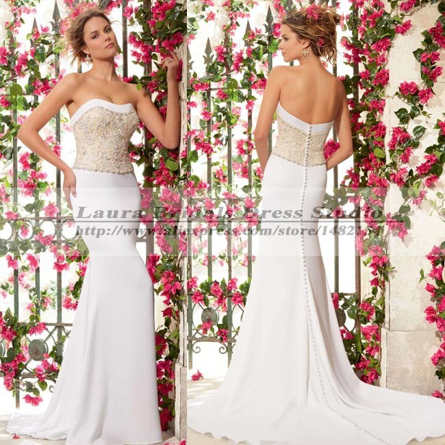 Sexy imported chiffon country style wedding dresses 2015 for Country wedding dresses cheap