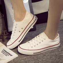 2016 Star chaussure High Quality New Low High Style Canvas Shoes zapatillas deportivas Casual for women and men all size 35--45(China (Mainland))
