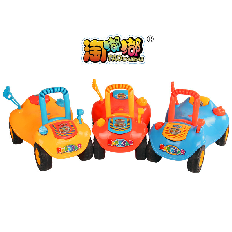 2015 new 1-4years baby walker car ride on toys kids children four wheel infant walkers car boys sport toy 291(China (Mainland))