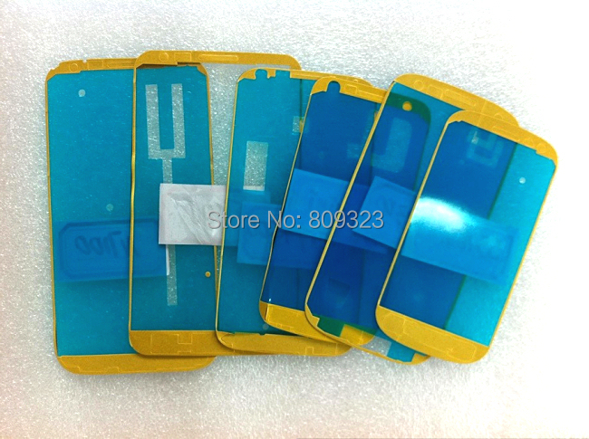 Outer Screen Glass Lens Adhesive glue For Samsung Galaxy S4 mini i9190 adhesive sticker, 100/lots