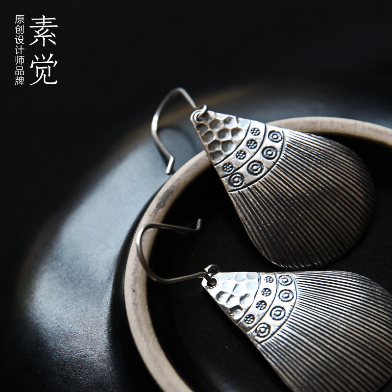 Handmade silver jewelry 2015 s925 thai drop earring free shippng gift packing - OMG CHN store