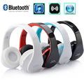 2016 KOYOT Hot Sale Stereo Music Headset Headphone with Mic Handband Foldable Wireless Music Bluetooth Earphone