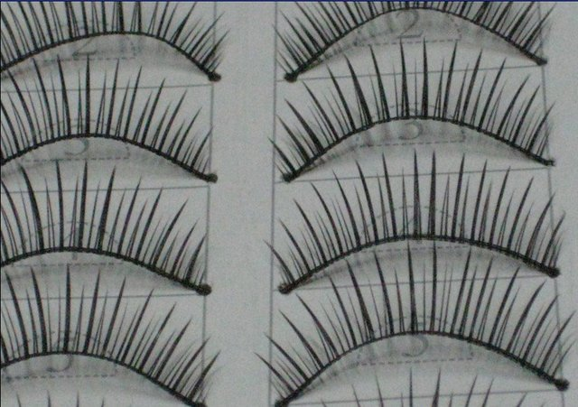 free shipping Hand-made False eyelashes 100pairs /lot (10pairs=1 box)  C005