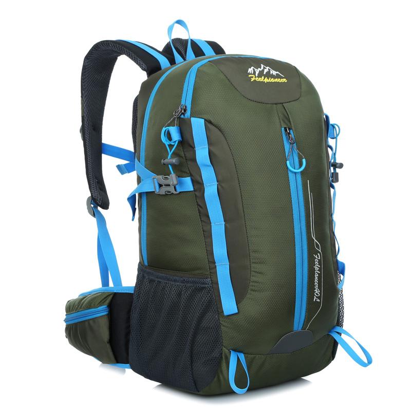 Modern design 420D nylon outdoor waterproof hiking mountain climbing backpack bags free ship<br><br>Aliexpress