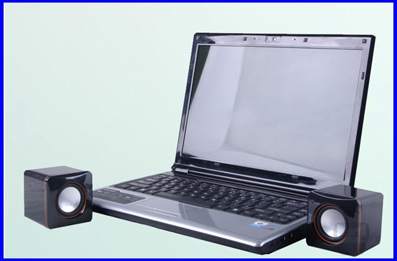 Free Shipping Classic Mini USB Speaker Laptop Speakers- E.S.000127(China (Mainland))
