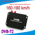Mobile Car DVB T2 Digital TV Receiver Real Two Chip Two Antenna Speed Up To 160