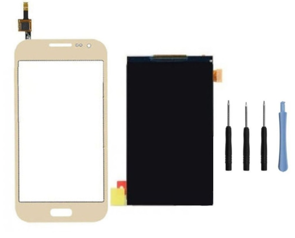 Touch Screen Digitizer Glass Panel + LCD Display for Samsung Galaxy Core Prime VE G361F + Sticker + Free Tools(China (Mainland))