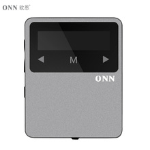 ONN X1 Mini Clip Sport MP3 Player Portable Music 8GB FM Radio Pedometer Multi-funcation 3.5mm Audio Port Bluetooh HiFi Player(China (Mainland))