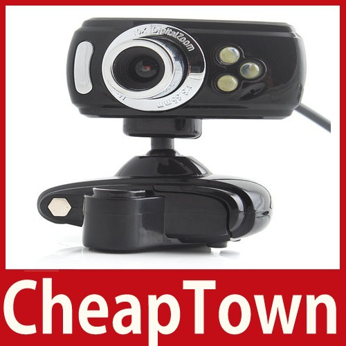 excellent fancy [CheapTown] USB 3 LED 16M Clip WebCam Web Camera w Microphone MIC Save up to 50% worldwide economically(China (Mainland))