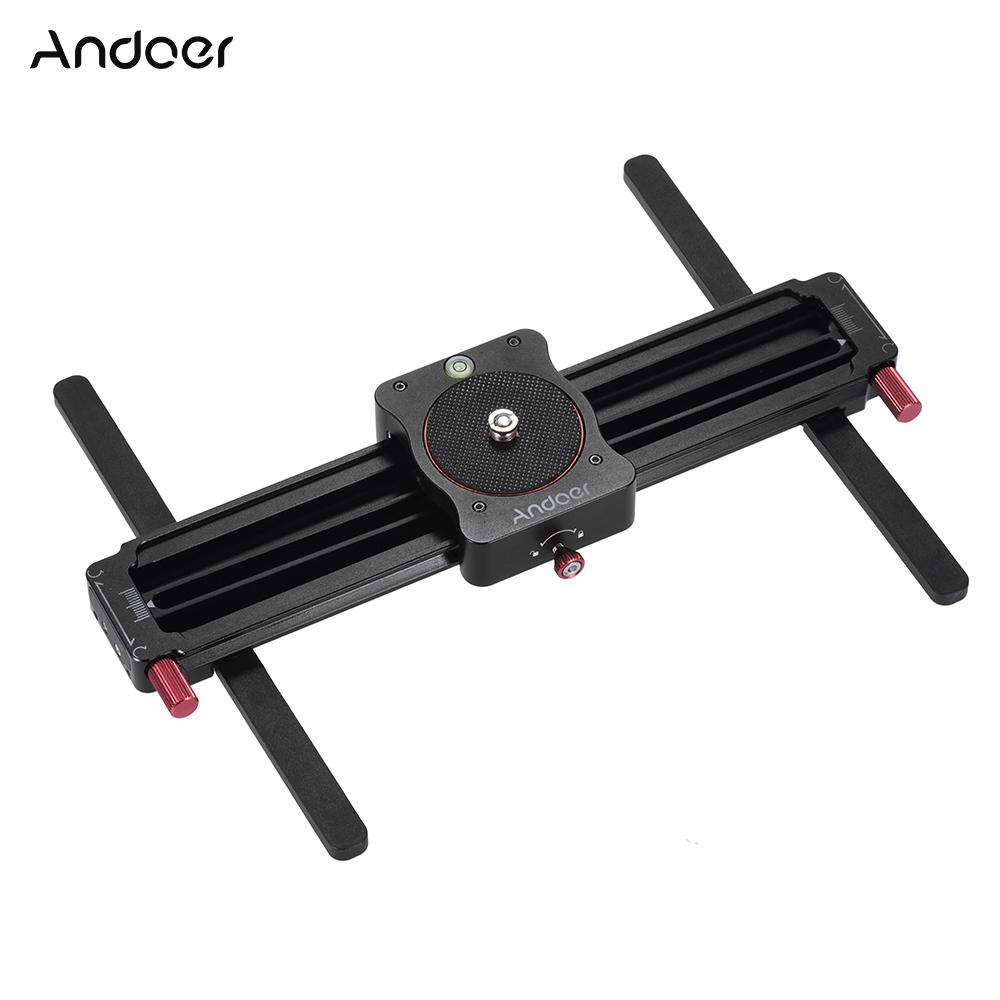 Andoer GT-MN280 280mm Mini Manual Camera Video Slider Follow Focus Track Slider for GoPro Action Camera Smartphone Pocket Camera(China (Mainland))