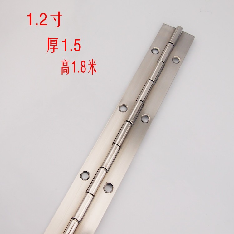 Stainless steel hinge hinge hinge long long rows of piano piano hinge stainless steel hinge hinges(China (Mainland))