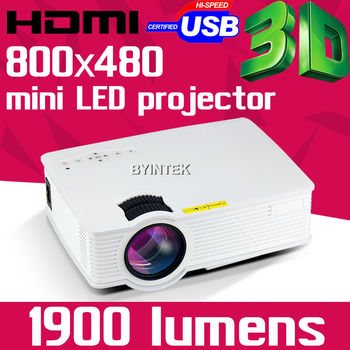 BYINTEK BT140 Home Theater X7 Cinema 1080P HD HDMI USB Video Digital portable LCD LED Mini Projector Proyector Beamer Projetor