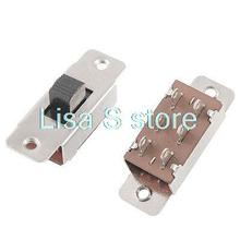 Buy 5Pcs 5mm or 8mm Knob Height On/Off/On 3 Position 2P3T PCB Panel Slide Switch 6A/125V 3A/250V AC 6 Pins SS-23F19 for $3.95 in AliExpress store